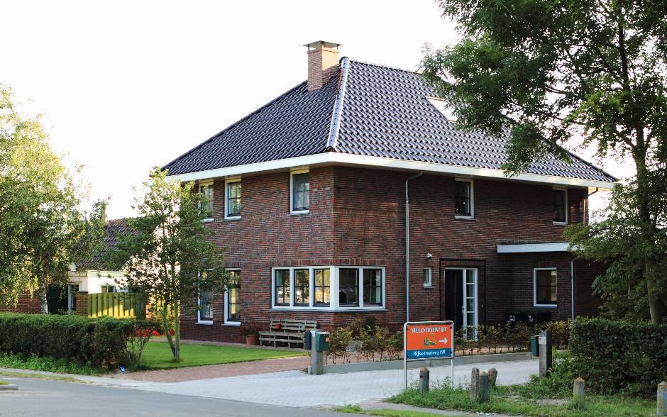 Nieuwbouw bedrijfswoning Rijksstraatweg Heemskerk 1