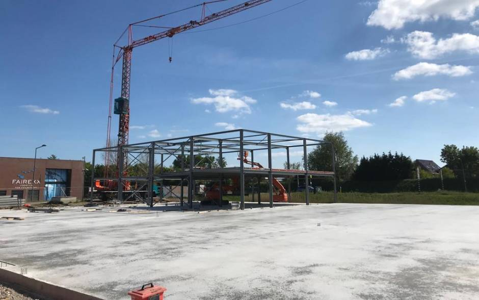 bouw bedrijfsgebouw