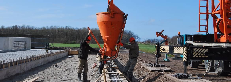Specialisaties - Betonbouw