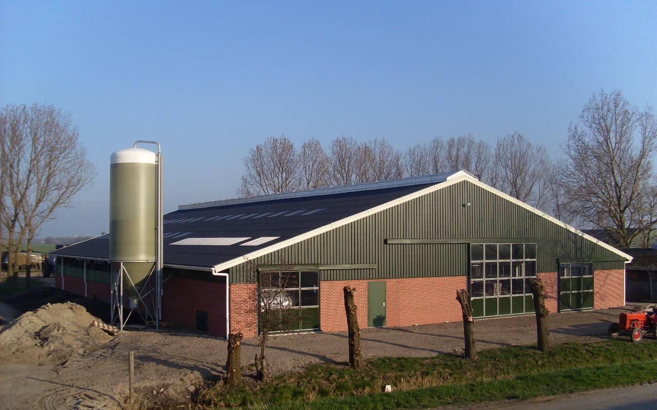 Projecten  - Agrarische bouw - Brakenhof Assendelft 1