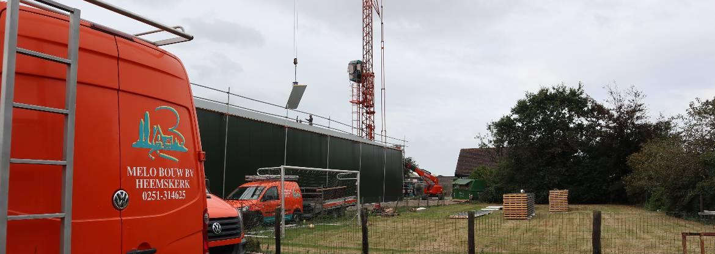 nieuwbouw schuur Heemskerk